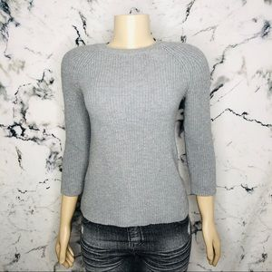 🧡3/$25🧡 Joe Fresh Sweater Women Size XS Grey